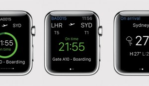 BA Launches App for Apple Watch