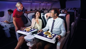 Fly Virgin Business with SPG Points