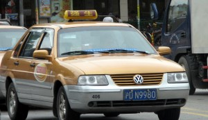 China Moves Against Taxi Apps