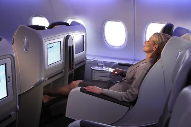 Airline Review Air France Business Cl Hong Kong Paris