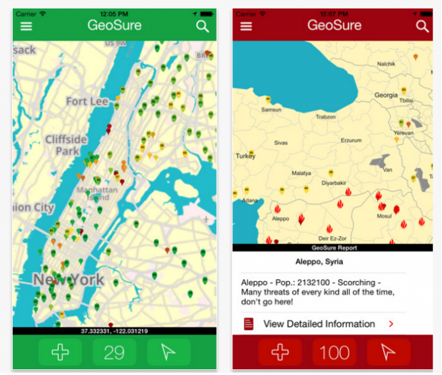 GeoSure Global Updates Its Travel Safety Apps