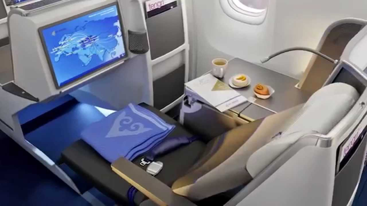 Airline Review Air Astana Business Class Almaty To Astana