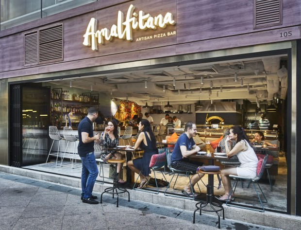 Amalfitana – Artisan Pizza Bar Opens in HK