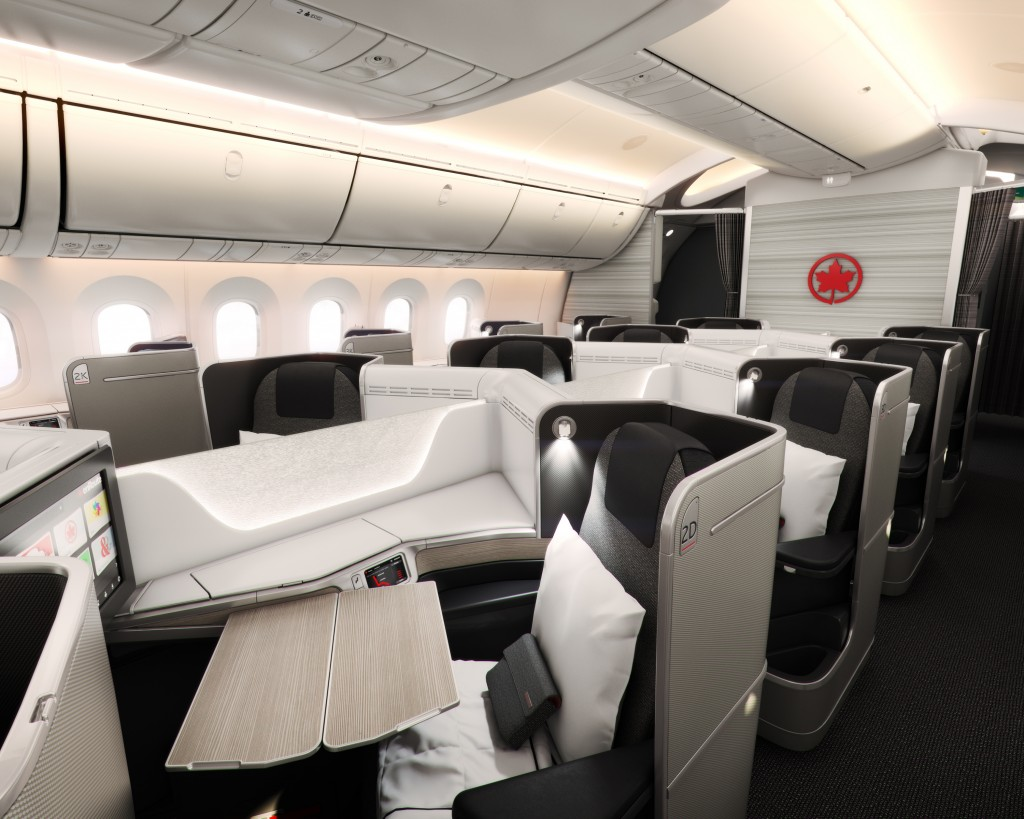The cutting-edge business class product available on Air Canada 787 and selected 777-300ER aircraft makes long-haul travel a breeze.