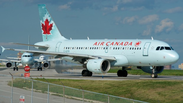 airline review air canada vancouver to edmonton the. Black Bedroom Furniture Sets. Home Design Ideas
