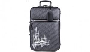 Dior Unveils New Dior Homme Dark Light Scribble Trolley Case