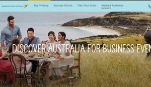New Website for Business Events in Australia
