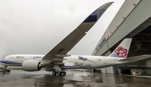 China Airlines Introduces New A350 Aircraft on Taipei-Vancouver Route