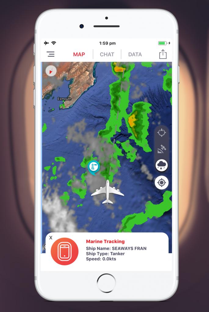 TravMedia_Australia_1261715_Infllighto Apple Store - Weather Radar and Marine