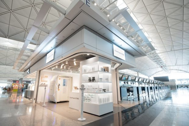 Sanitizer Pop Up Opens at HKIA