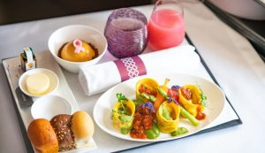 Qatar Airways Adds Vegan Dishes to Business Class