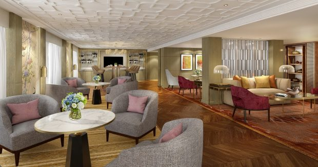 New Club Lounge for Iconic Hong Kong Hotel
