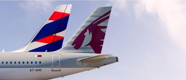 Qatar Airways & LATAM Airlines Brasil Expand Codeshare