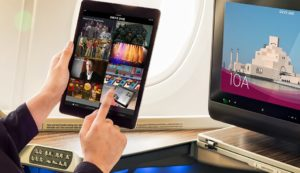 Qatar Introduces Zero Touch Inflight Entertainment Tech