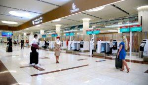 Emirates Goes Touchless at Dubai